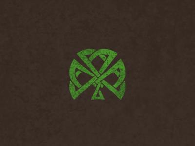 Clover #1 logo concept irish apparel