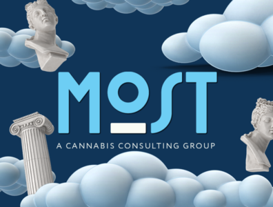 Most Cannabis Consulting Branding modern logo cbd brand identity brand design cannabis logo cannabis logo design logo