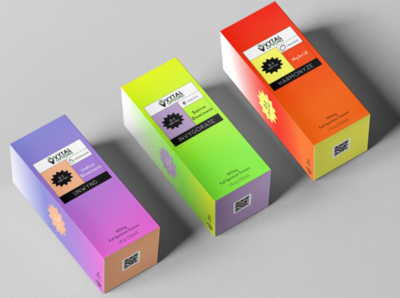 Neon Cannabis Package Design Series cannabis logo cannabis packaging graphic design cbd oil hemp cbd brand identity brand design package design