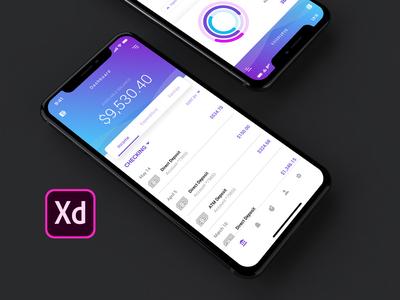Peak Finance App Concept | Adobe Design Creative Challenge