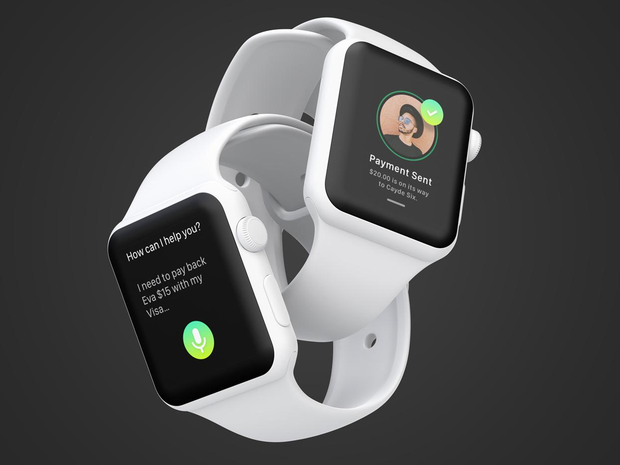 PayBack Smart Watch App ux challenge ux design payback design payment app app apple watch mockup smart watch adobe xd concept app interaction design ui ux