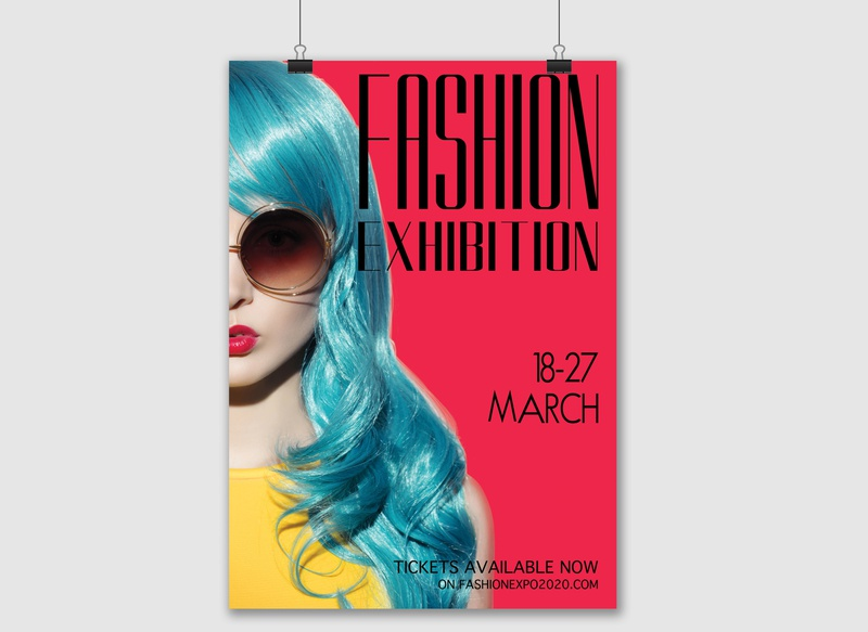 Poster Design for a Fashion Show typography poster design poster art poster photoshop illustration fashion show fashion design branding artwork art
