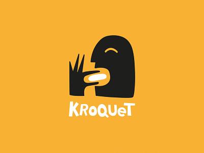 KROQUET 03 fun branding design snack food branding visual identity logotype branding