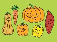 Yellow & Orange Vegetables