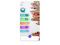 Courses learning app UI in figma