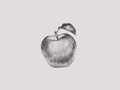 Jam Series Sketch - Apple sketches illustration
