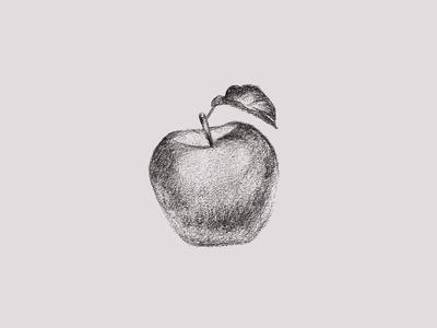 Jam Series Sketch - Apple