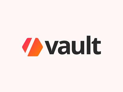 Vault App Logo mobile app vault logo app
