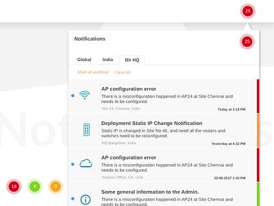 Dashboard Notification 2 webapp ux ui notification dashboard
