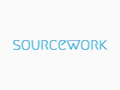 Sourcework Company Logo company freelance source work branding logo