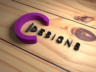 C Designs (3D Model) 3d art branding design branding 3d models