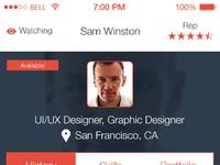 Designer recruit