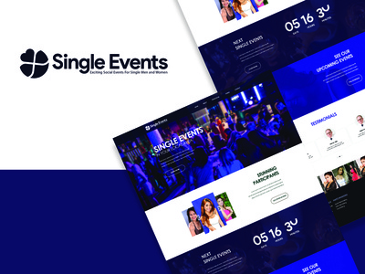 Party Website for SingleEvents.com
