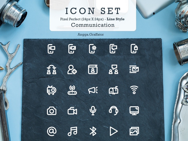 Icon Set Design branding vector icon set icon design