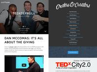 TEDxDePaulU: Creators & Curators