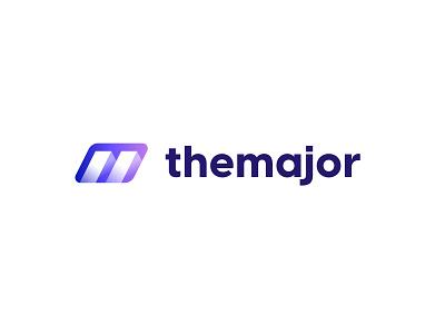 The Major - Logo agency branding identity branding logo design