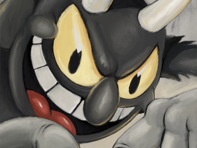 Devil from Cuphead