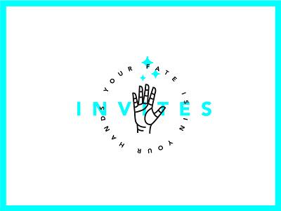 5 Invites illustration stars fate hand dribbble invites invites 5