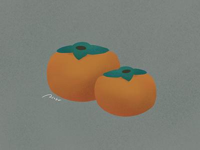 Autumn fruits #003 fruits autumn procreate illustration