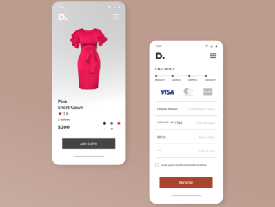 Day 2 UI challenge - credit card checkout