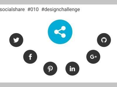 Day 10 Design - Social share design