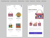 Day 12 Design Challenge - E-commerce shop design