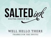 Salted Ink in the house!