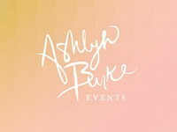 Ashlyn Burke Branding Concept 2 - Brush Pen