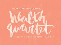 Health Quartet Watercolor Concept