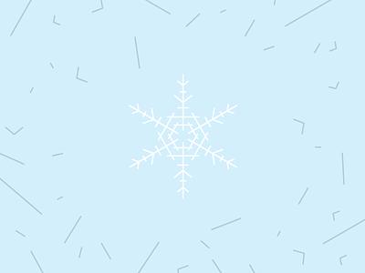 Make Cut Out Snowflakes Day art line snowflake