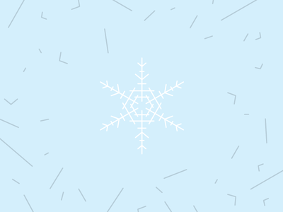 Make Cut Out Snowflakes Day art line snowflake