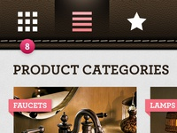 Furniture App — Categories