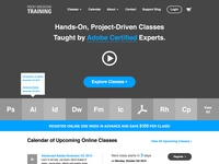 Rocky Mountain Training — Home Page Wireframes
