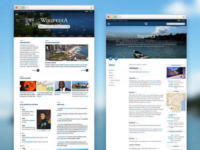 Wikipedia Concept web ux ui