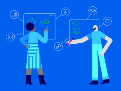 Vector Illustration for Facebook Gaming vector branding illustration design