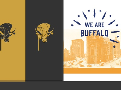 Buffalo Strong good neighbors electric rustbelt strong spirit pride merch apparel new business events masquerade mask animal wny ny city bison buffalo