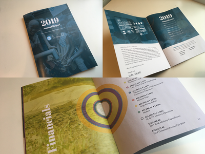 2019 Annual Report stats nonprofit clean water let them lol design report annual
