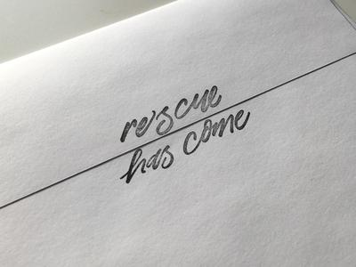 Rescue Has Come Stamp II