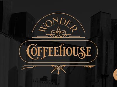 Wonder Coffeehouse Branding
