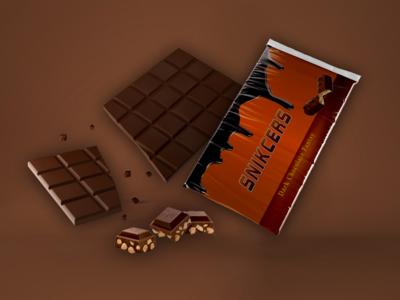 Snikcers Chocolate Wrapper