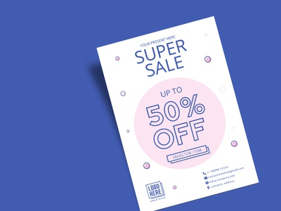 Super Sale Flyer Design