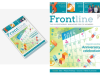 Frontline Physiotherapy Magazine Cover