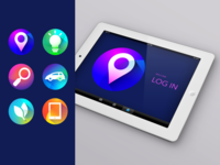 Icons with Glow