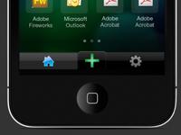 iOS Taskbar