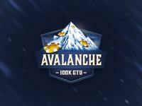 Avalanche Poker Badge