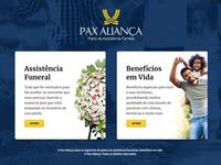 Pax Aliança Intro Page