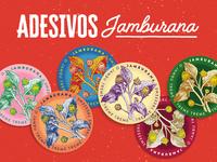 Jamburana Stickers
