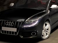 Audi S5 render scene