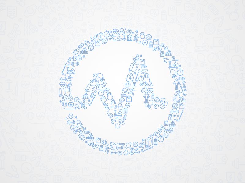 Mobiefit logo dribbble