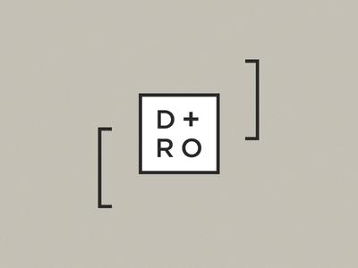 Digital Roamers Logo designers calligraphy digital nomads brackets brand branding cube square typeface logotype logo